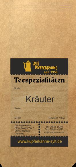 Kupferkanne Kräutertee 100g