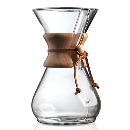 CHEMEX Kaffeezubereiter 1-8 Tassen